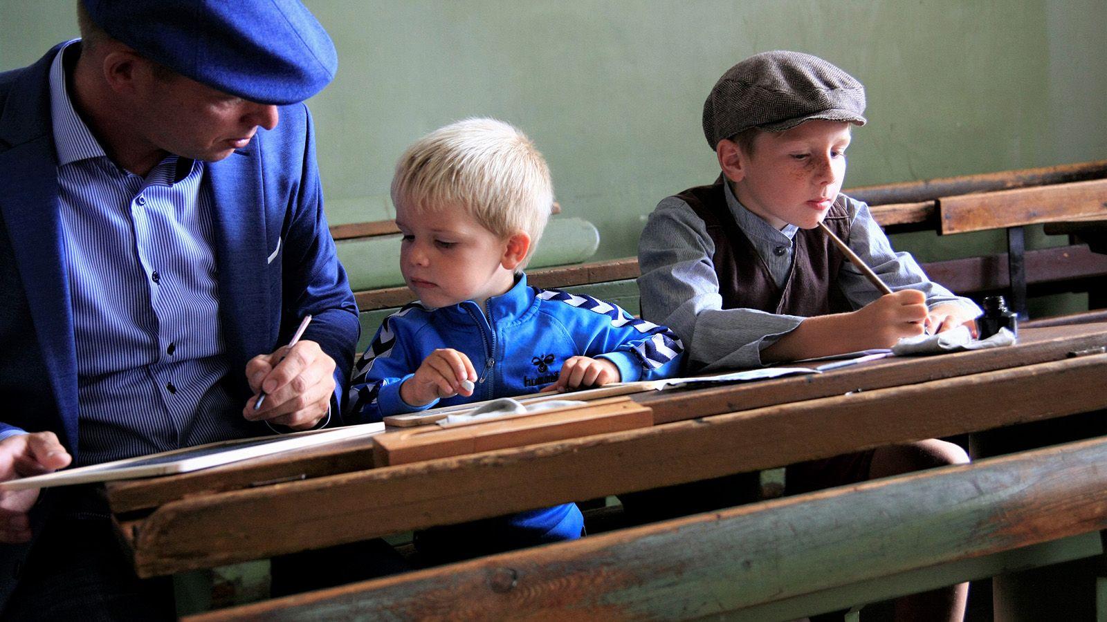 Familieaktivitet – Skole som i gamle dage