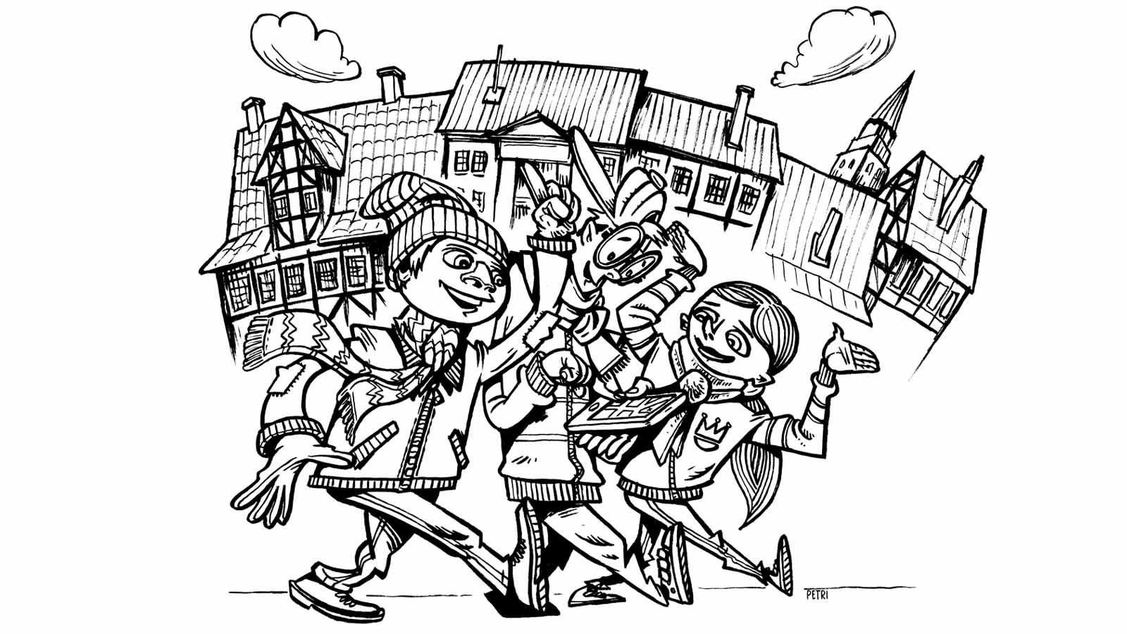 Byvandring – det er for børn (og deres voksne)