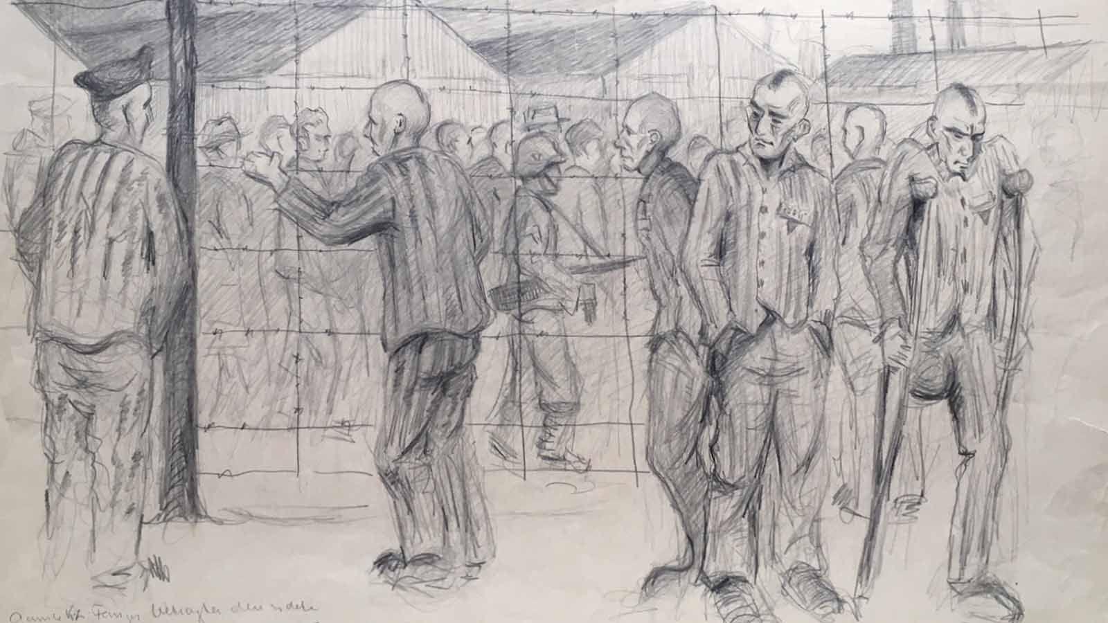 Kunstner i kz-lejr