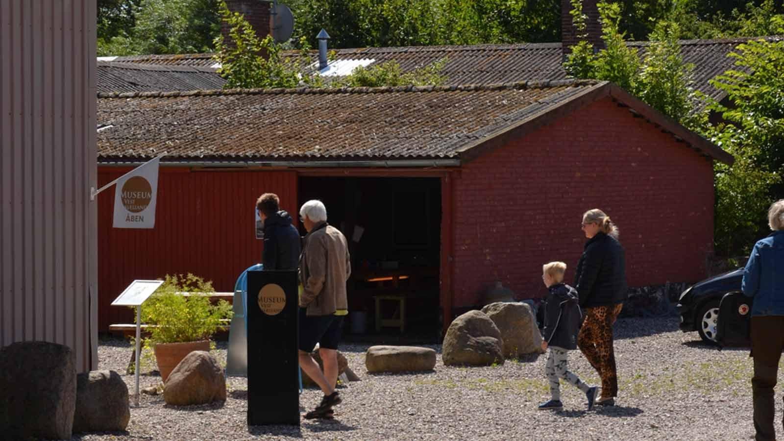 Oldtidslaboratorium i sommerferien