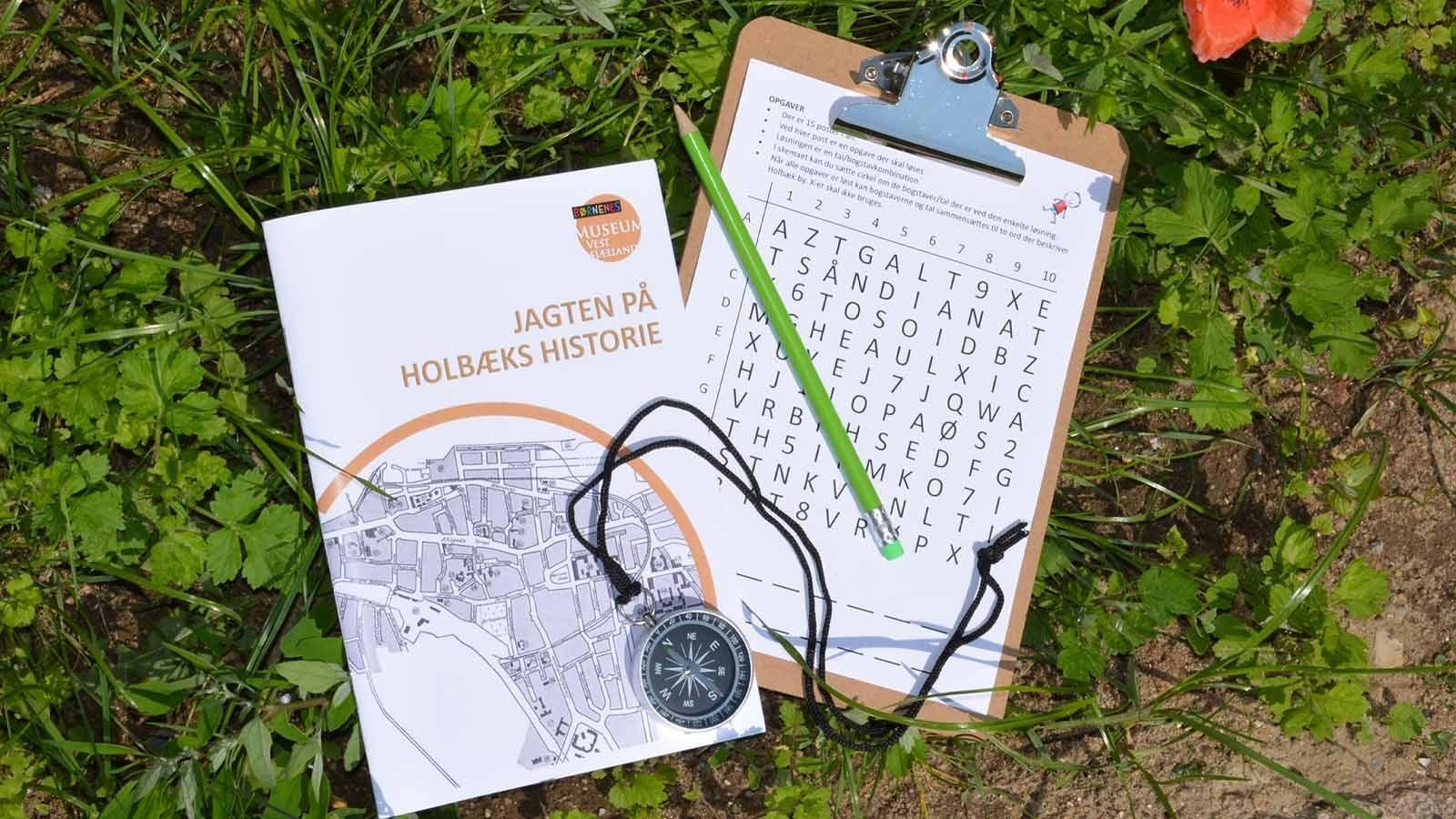 Jagten på Holbæks historie - posens indhold