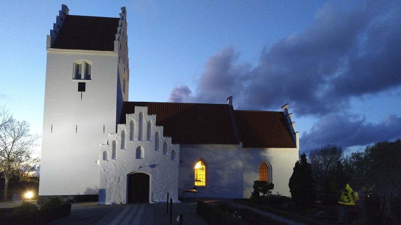 På tur til Nr. Asmindrup og Egebjerg kirker