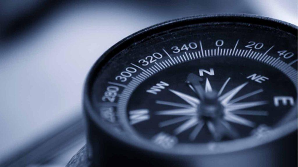 Find vej kompas