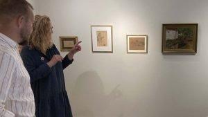 Omvisning i Lundbye udstillingen på Odsherreds Kunstmuseum